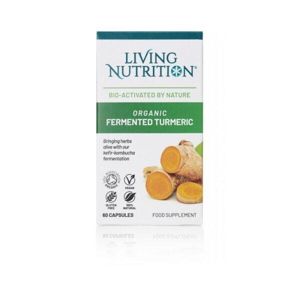 Gefermenteerde Kurkuma Capsules Turmeric Alive van Living Nutrition