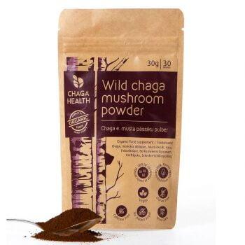Wilde Chaga Paddenstoelen Poeder Biologisch van Chaga Health